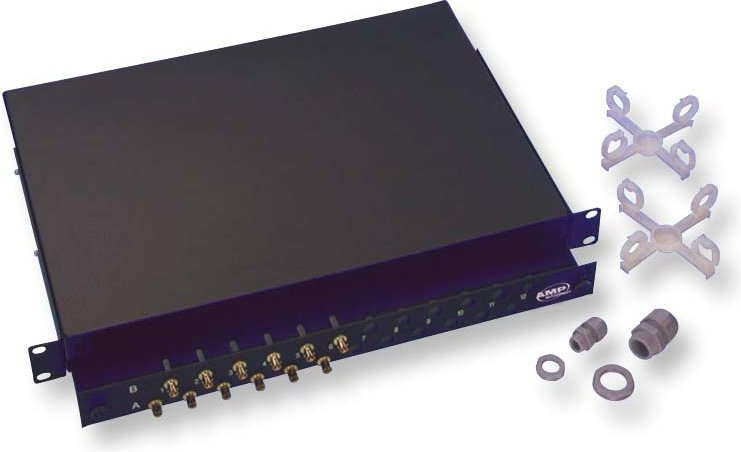 Патч-панель оптическая 48 портов LC, выдвижная, Panduit. ВО Патч панель 12